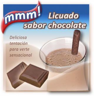 Sustituto de alimento en licuado - Sabor chocolate